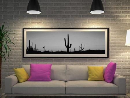 Buy Arizona Black & White Panoramic Art