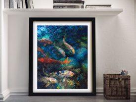 Carpe Diem by Iris Scott Framed Wall Art