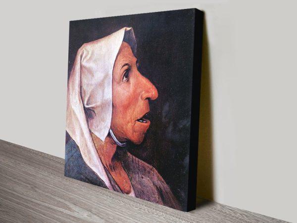Buy Old Farmer Cheap Classic Canvas Prints AU