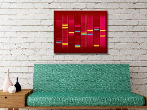 Scarlet Vibes DNA Artwork