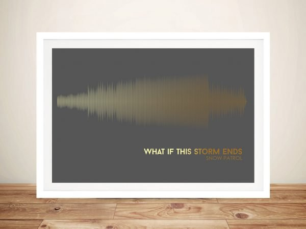 Buy What if This Storm Ends Soundwave Art