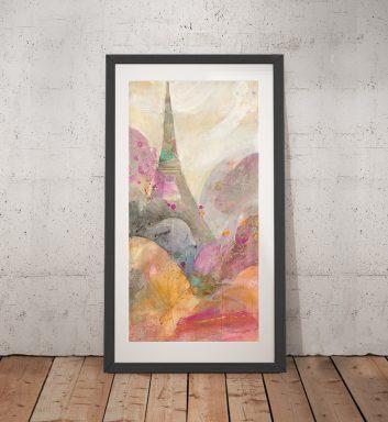 Buy Sunrise Paris Wall Art by Albena Hristova