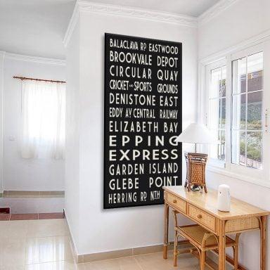 Buy Tram Sign Prints Great Gift Ideas Online