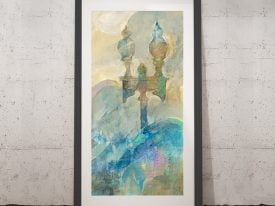Buy Twilight Paris Wall Art by Albena Hristova