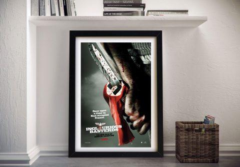 Buy Inglourious Basterds Movie Memorabilia Art