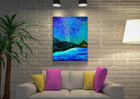 Buy Magic Night Enchanting Canvas Prints AU