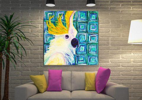 Buy Peek-a-boo Bird Wall Art Cheap Online