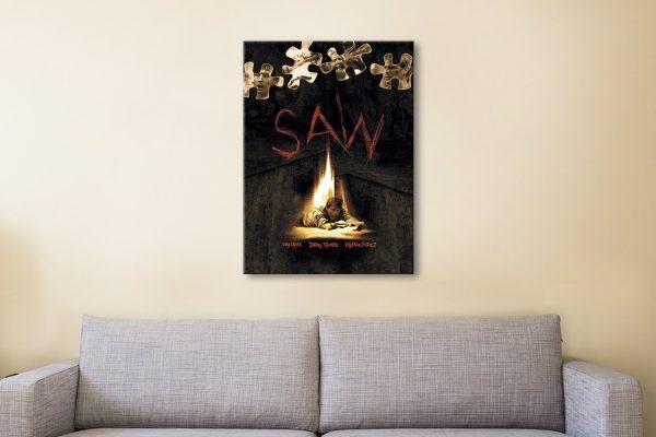 Buy a Saw Poster Print Cheap Wall Art Online