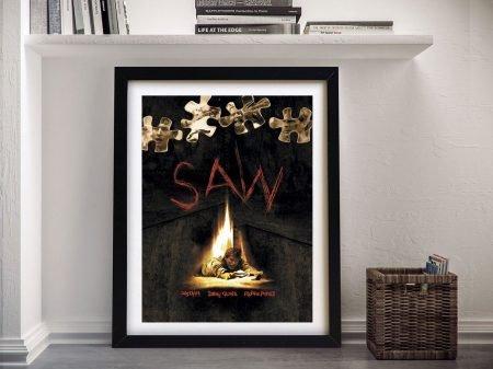Buy a Framed Saw Movie Poster Print