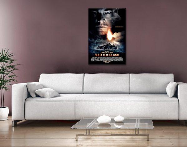 Shutter island Movie Poster canvas print