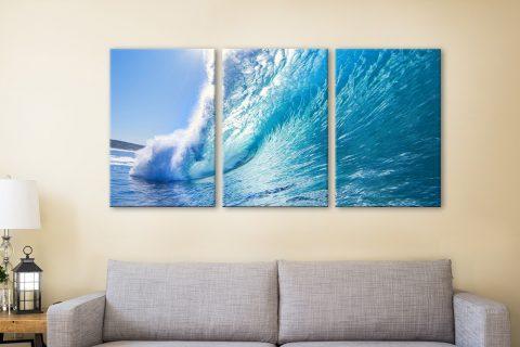 Buy Surf Haze Affordable 3-Panel Surf Art AU