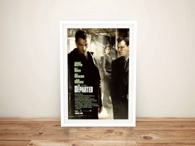 Buy The Departed Film Poster Wall Art