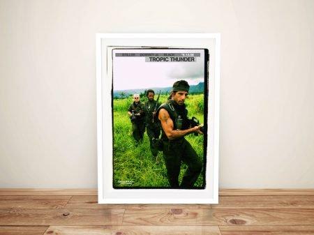 Buy Tropic Thunder Movie Memorabilia Art