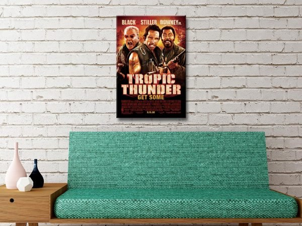 Buy Movie Art for Tropic Thunder Great Gifts AU