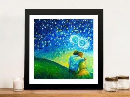 Buy We Are Infinite Romantic Wall Art