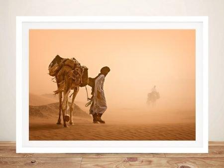 Sandstorm-Canvas-Wall-Art Print