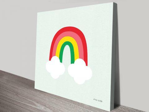 Buy Bright Rainbow Colourful Kids Art AU