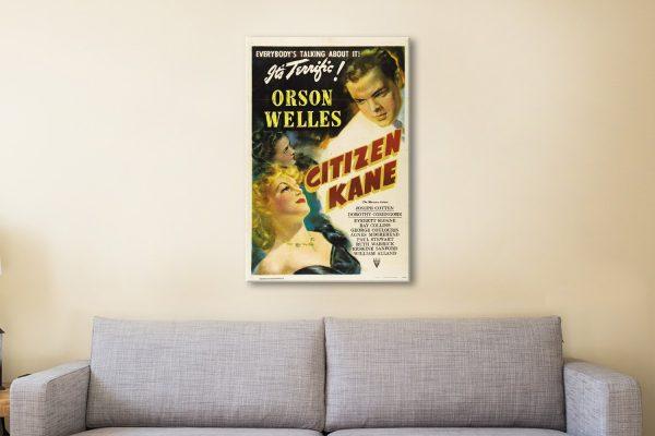 Citizen Kane Movie Poster Prints For Sale AU