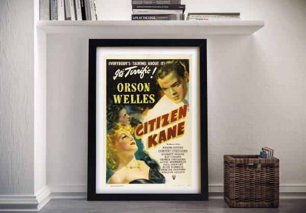 Buy a Citizen Kane Vintage Movie Print