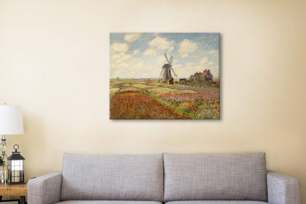 Buy Tulip Fields Monet Art Great Gift Ideas AU