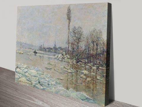 Buy Breakup of Ice Cheap Monet Art Online