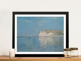 Buy Low Tide at Pourville a Framed Monet Print