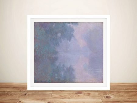 Buy Morning on the Seine Canvas Artwork