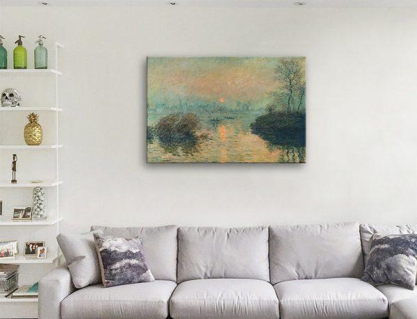 Buy Sunset on the Seine Monet Art Gift Ideas AU