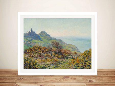 Buy The Church at Varengeville Canvas Artwork