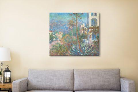 Buy Villas at Bordighera Cheap Monet Canvas Art