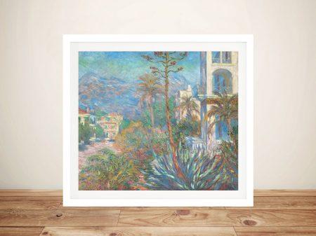 Buy a Villas at Bordighera Framed Print