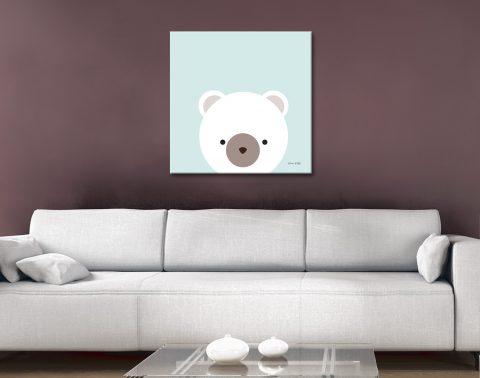 Buy Cuddly Bear Cute Kids Art Cheap Online