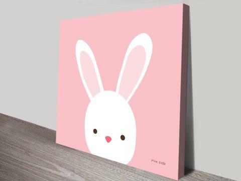 Buy Cuddly Bunny Wall Art Great Gift Ideas AU