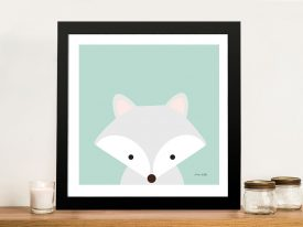 Buy Cuddly Fox Adorable Kids Wall Art