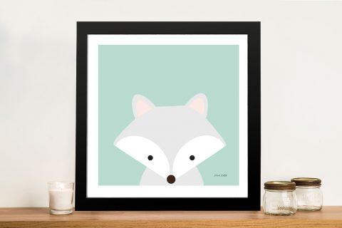 Buy Cuddly Fox Adorable Kids Wall Art