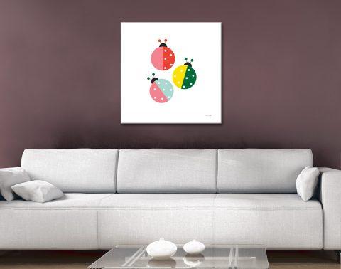 Buy Ladybug Wall Art Gift Ideas for Newborns