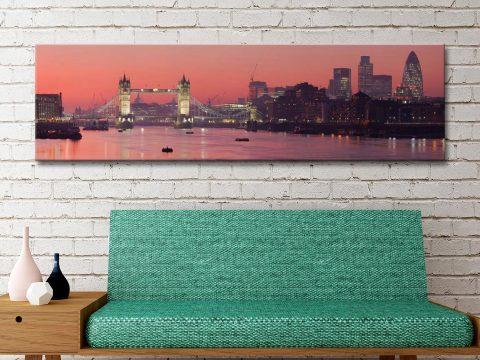 Buy London Thames Sunset Art Gift Ideas AU