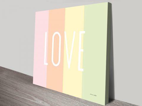 Buy Love Rainbow Art Perfect Gift Ideas Online