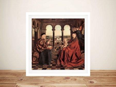Buy a Madonna and Chancellor Nicholas Rolin Print