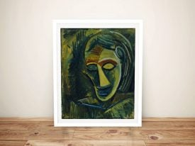 Buy Woman's Head Wall Art by Pablo Picasso
