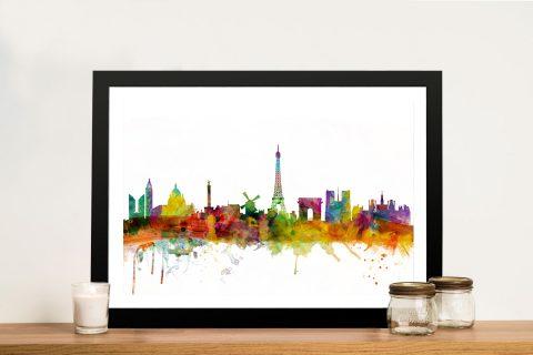 Buy Paris Skyline Michael Tompsett Wall Art
