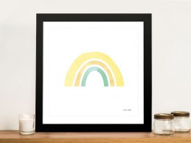 Buy Pastel Rainbow ll Colourful Kids Wall Art