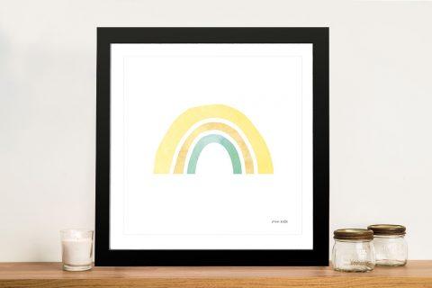 Buy Pastel Rainbow ll Colourful Kids Wall Art
