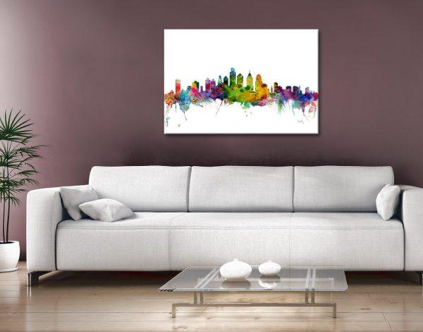 Buy Philadelphia Skyline Wall Art Great Gifts AU