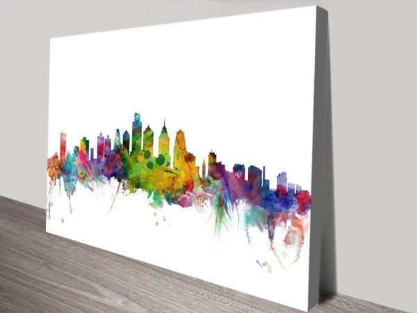 Buy Cheap Michael Tompsett Skyline Art AU