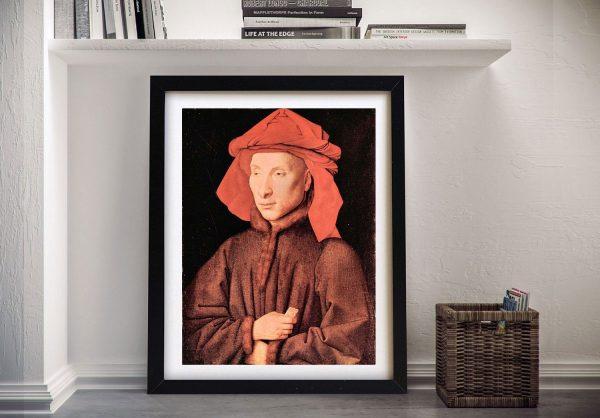 Buy a Print of Portrait of Giovanni Arnolfini