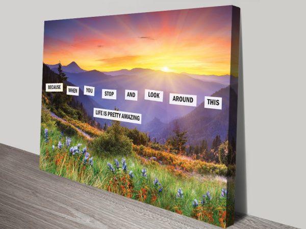 Buy Affordable Inspirational Canvas Art Online