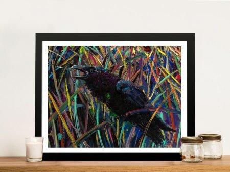 Buy a Print of Raven of Wapiti by Iris Scott