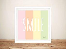 Buy Smile Rainbow Unique Kids Wall Art
