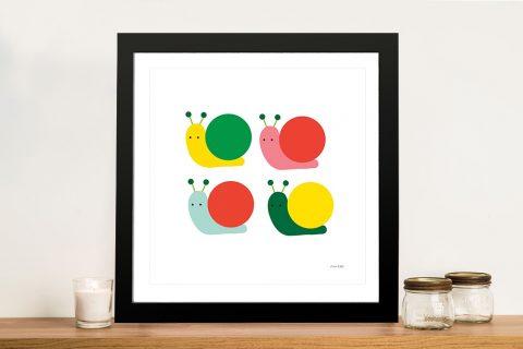 Buy Snails Four Multicoloured Art for Kids